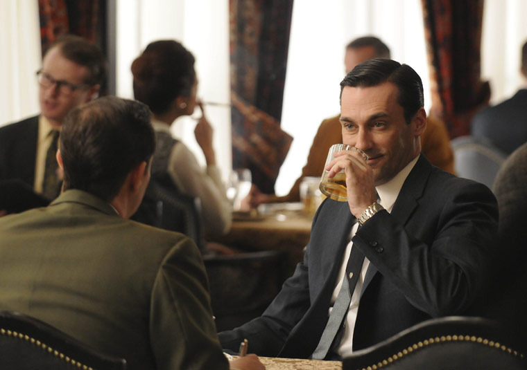 Social Sales on Mad Men