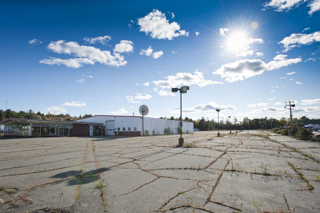 Abandoned Car Dealership