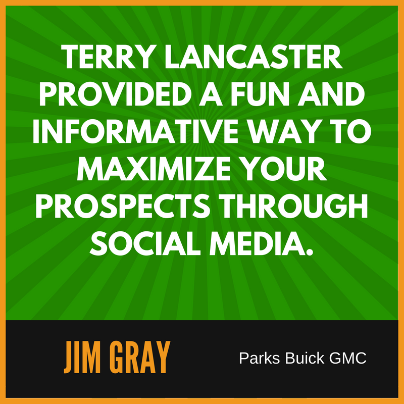 Terry Lancaster Review from Jim Gray