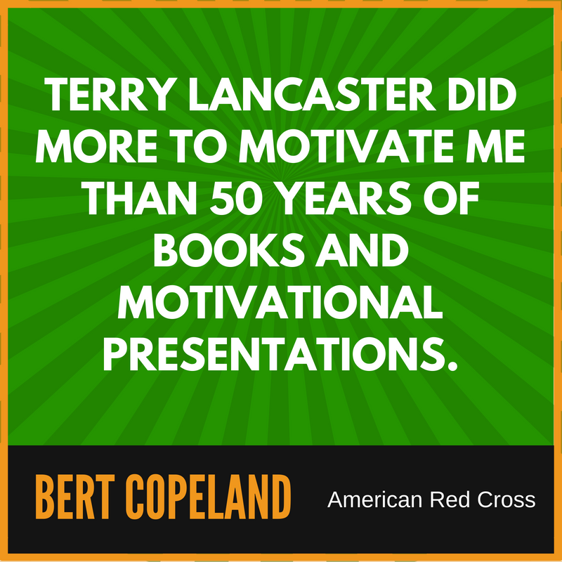 Sales Motivational Speaker Terry Lancaster