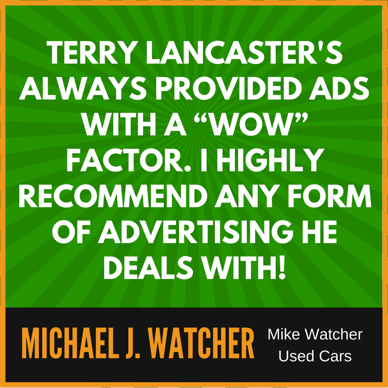 Terry Lancaster Automotive Marketing