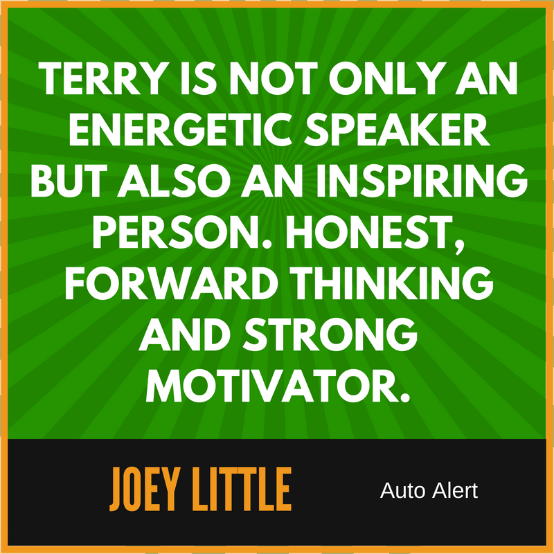 Motivational Sales Speaker Terry Lancaster