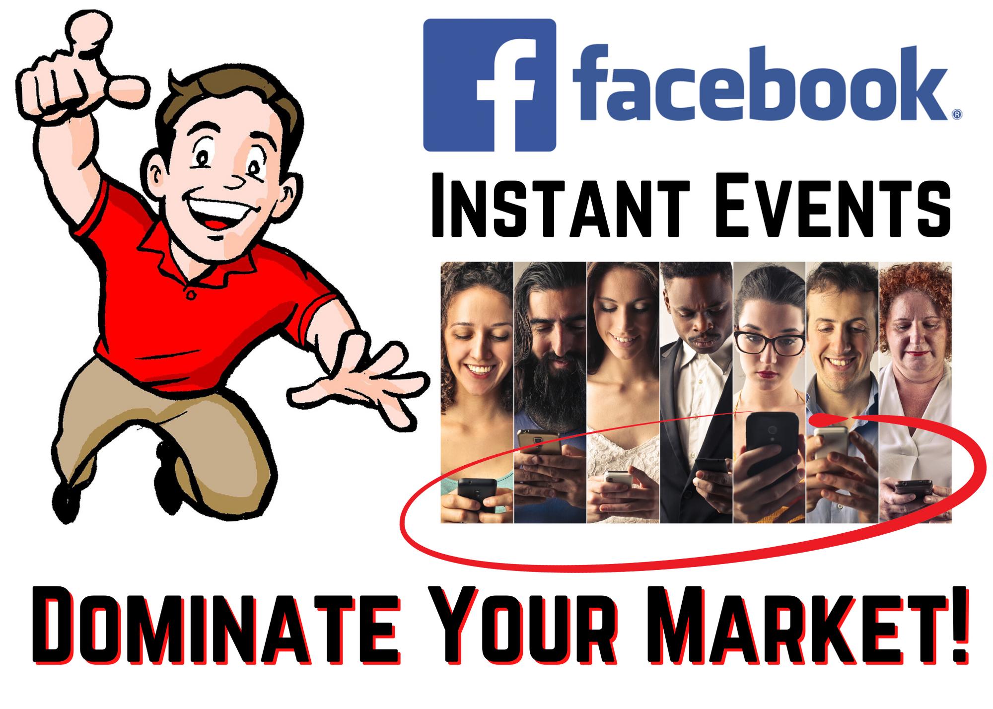 Facebook sales events