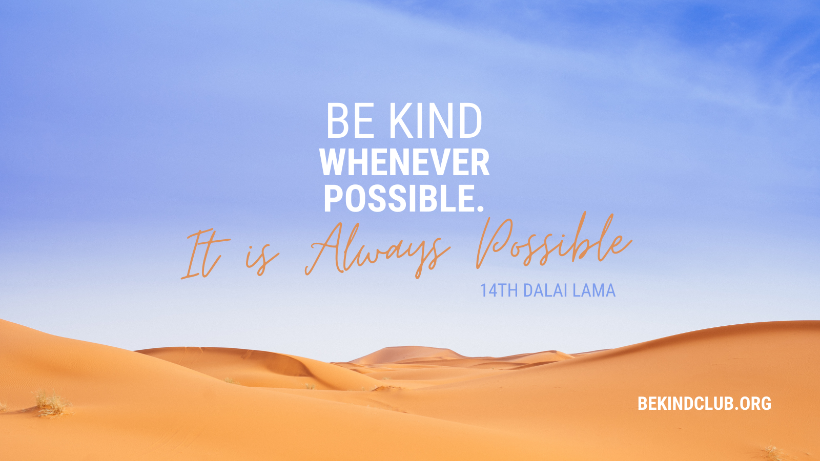 dalai lama quote about kindness